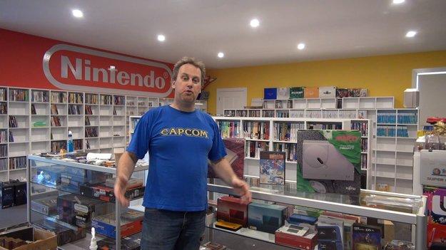 Dieser Mann besitzt wohl die größte Videospiel-Sammlung der Welt!