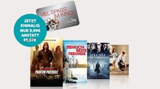 Maxdome: 3&nbsp&#x3B;Monate + Kino-Gutschein für nur 9,99&nbsp&#x3B;€ statt 35,97&nbsp&#x3B;€