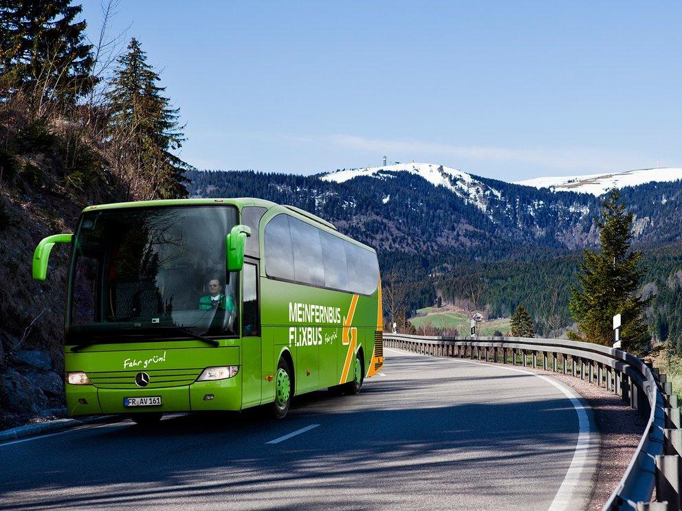 Flixbus auf schöner Strecke bei verspätung gibt es anspruch auf entschädigung