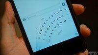Microsofts iOS-Tastatur wird einhändiges Tippen erleichtern