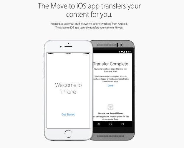 Apple soll angeblich an iPhone-zu-Android-Switch-App arbeiten