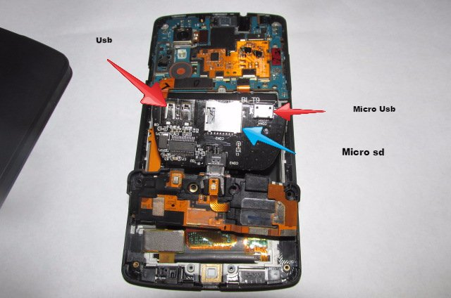 Nexus 5 mit microSD-Slot: DIY-Mod macht's möglich