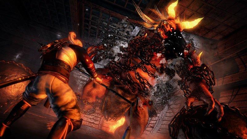 Ni-Oh: Auch Bosskämpfe gegen übermächtige Dämonen erwarten euch.