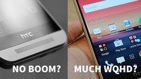 HTC One M10-Gerüchte: Keine Frontlautsprecher, dafür mit WQHD-Display – bitte was?