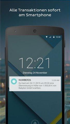 Über Kontoumsätze wird man direkt auf dem Smartphone informiert.