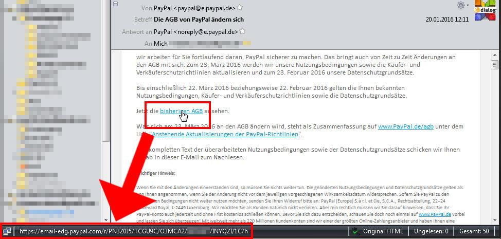 Agb Von Paypal ändern Sich