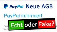 Die AGB von Paypal ändern sich (27. April 2017) – E-Mail echt oder Betrug?