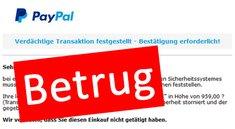 Paypal: Zahlung an Media Markt Deutschland GmbH – Betrug durch Phishing