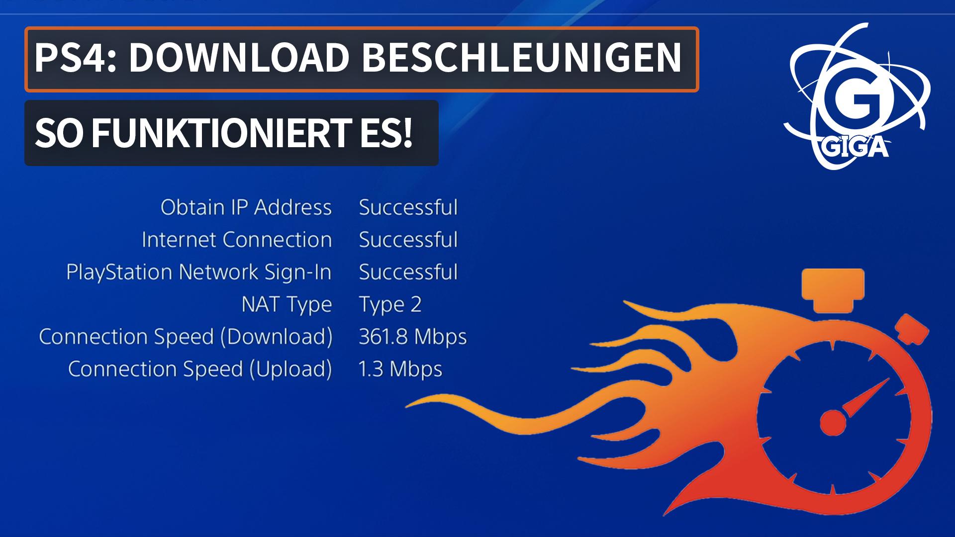 PlayStation 4: So könnt ihr die Downloads beschleunigen