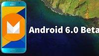 Android 6.0 Marshmallow: Beta-Version für Samsung Galaxy S6 im Video