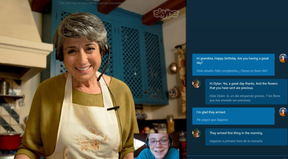 Skype Translator übersetzt in Echtzeit in verschiedene Sprachen.