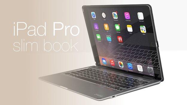 Das iPad Pro wird zum MacBook: ZAGG Slim Book Keyboard-Case mit deutschem Layout jetzt verfügbar