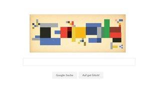 Sophie Taeuber-Arp: Google im Tetris-Look
