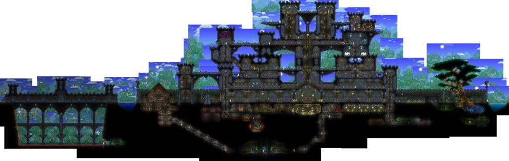 terraria-mods-big-castle