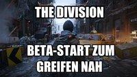 The Division: Laut einem Gerücht startet die Beta noch diesen Monat