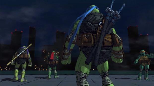 Teenage Mutant Ninja Turtles: Der erste Trailer zum Spiel von Platinum Games ist da