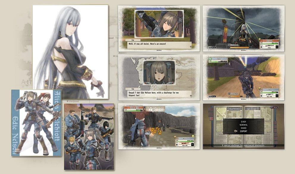 Valkyria Chronicles Remastered: Sämtliche DLCs und Extras sind mit dabei.