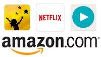 Verlauf löschen bei Maxdome, Watchever & Amazon Prime