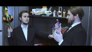 Men in Black - Movie meets Nerf