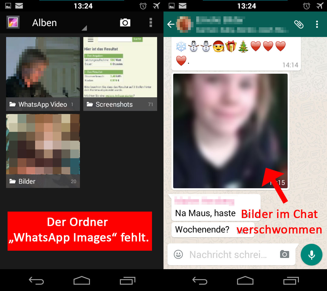 WhatsApp: Bilder weg – Ursachen und Lösungen – GIGA