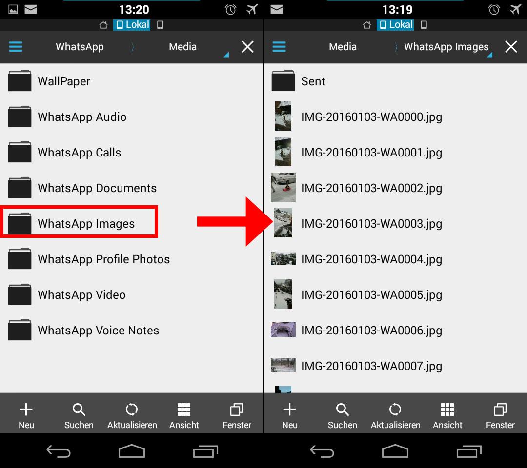 Whatsapp Bilder Weg Ursachen Und Lösungen