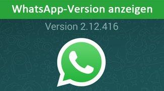 WhatsApp-Version anzeigen – So geht's