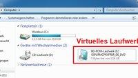 Virtuelles Laufwerk erstellen (Windows 10, 8 und 7) – so geht's