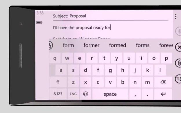 """Microsoft arbeitet an """"Word Flow""""-Bildschirmtastatur für iOS"""