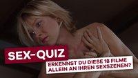Filmsex-Quiz: Erkennst du diese 18 Filme allein an ihren Sexszenen?