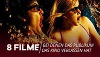 Sex, Tabus und Kotztüten: 8 Filme, bei denen das Publikum das Kino verlassen hat