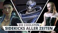 Sie stehen im Schatten der Helden: Die besten Sidekicks in Videospielen