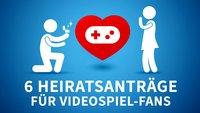Valentinstag: Die 6 besten Heiratsanträge von Videospiel-Fans