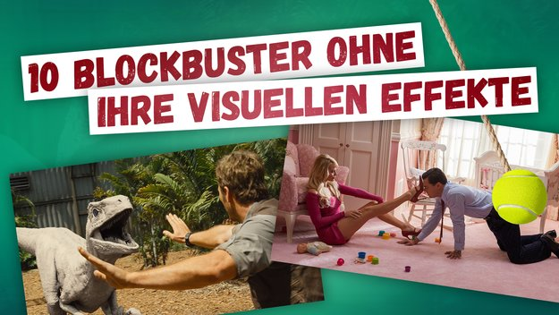 Erstaunlich aber wahr: So sehen aktuelle Blockbuster ohne ihre visuellen Effekte aus