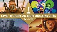 Oscars 2016 - Der große Live-Ticker zur Filmpreis-Verleihung