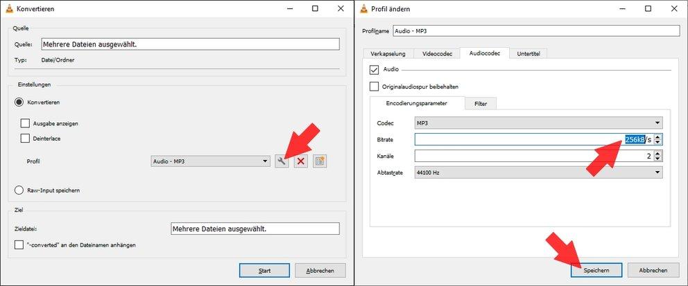 AAC zu MP3 VLC Media Player 02