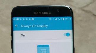 Samsung Galaxy S7: Fotos zeigen Always-On-Display und Kamera-UI