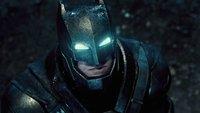 Neues Rating für Batman V Superman: Wandelt Batman auf Deadpools Spuren?