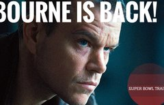 Bourne is back: Jason Bourne...
