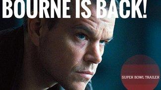 Bourne is back: Jason Bourne tritt mit dem Super Bowl-Trailer die Rettung des amerikanischen Actionfilms an