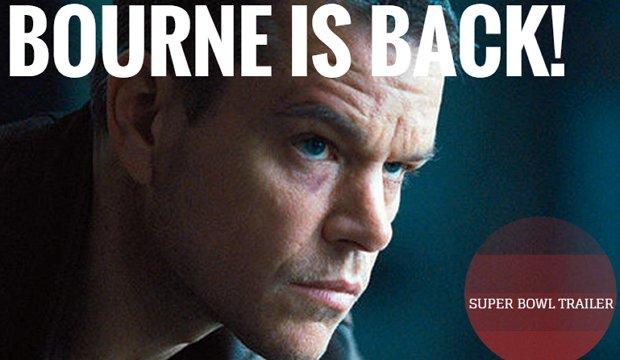 Bourne Is Back Jason Bourne Tritt Mit Dem Super Bowl Trailer Die