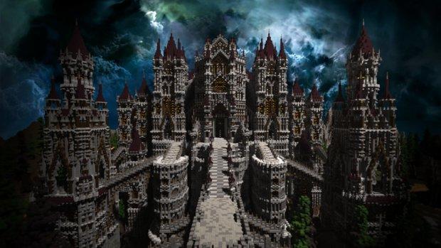 Minecraft: So gut sieht Anor Londo im Klötzchenspiel aus!
