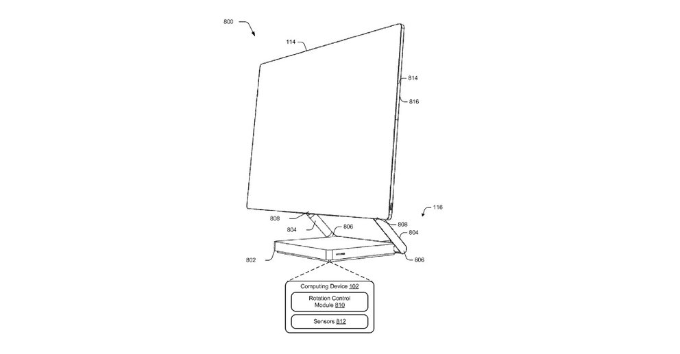 Microsoft modularer All-in-One-PC Patent_01