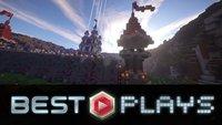 Minecraft Best Plays: Wir zeigen die besten Bauwerke aus Woche 1 im Video!