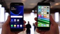 Samsung Galaxy S7 vs. iPhone 6s: Video-Vergleich der High-End-Smartphones