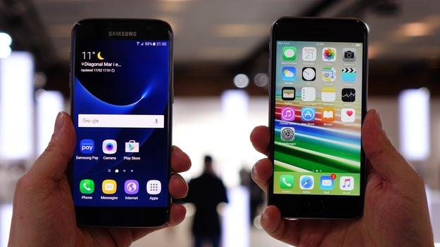 Samsung erobert Spitze des US-Smartphone-Marktes von Apple zurück