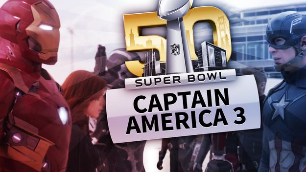 Team Cap vs. Team Iron Man: Marvel's Captain America Civil War bekommt den Super Bowl-Trailer, den wir gebraucht haben