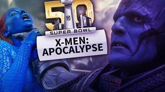 Fette Kriegserklärung: X-Men Apocalypse ist mit dem Super Bowl-Trailer gerade sehr viel interessanter geworden