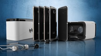 Alcatel Onetouch Idol 4S: Verpackung ist gleichzeitig eine VR-Brille