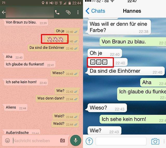 Whatsapp Missverständnisse