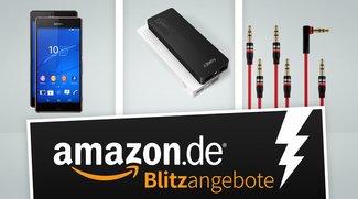Sony Xperia Z3, Audio-Ersatzkabel und Akkupacks heute stark vergünstigt in den Amazon-Blitzangeboten